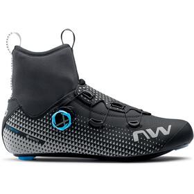 Northwave Celsius R Arctic GTX Scarpe Bici Da Corsa Uomo, nero/argento